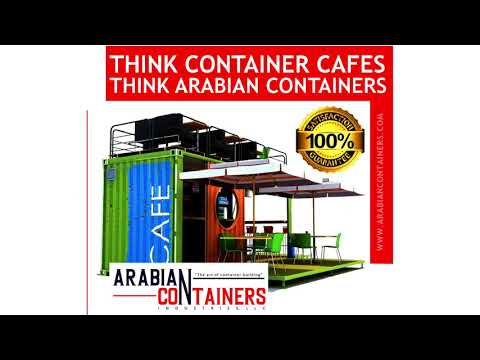 Shipping Container Popup Cafe Unit Construction Company in Dubai, UAE & Middle East