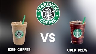 Starbuck's Ice Coffee vs Cold Brew | Coffee Squad Ep1