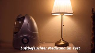 Luftbefeuchter Medisana - Test