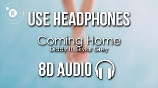 Diddy ft. Skylar Grey - Coming Home (8D AUDIO) - YouTube