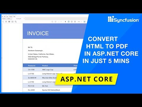 mp4 Html To Pdf Nuget, download Html To Pdf Nuget video klip Html To Pdf Nuget