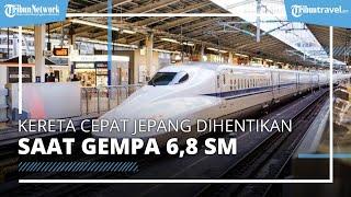 Gempa 6,8 Skala Magnitudo Guncang Tohoku Jepang, Shinkansen Berhenti Beroperasi 3 Jam