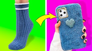 24 AWESOME DIY PHONE CASE IDEAS TO MAKE IN NO TIME
