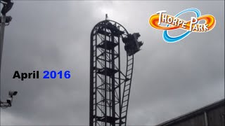 """The """"I'm sorry I neglected you for 8 months vlog!"""" - Thorpe Park - April 2016"""