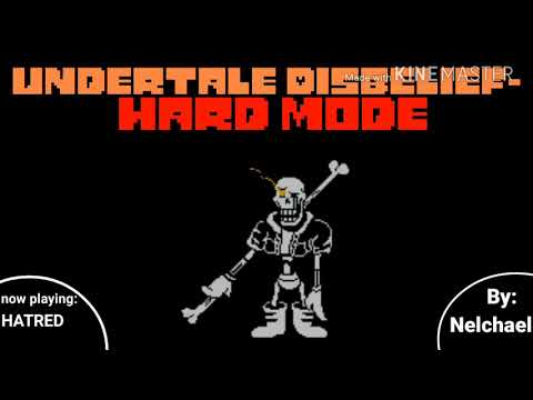 Undertale Disbelief (Hard Mode)[Phase 1] Hatred (V2) b… - смотреть