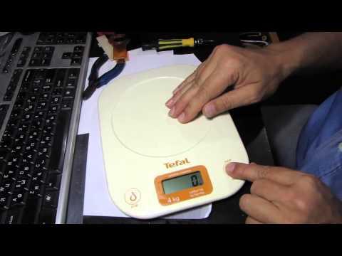 Как починить электронные весы Tefal
