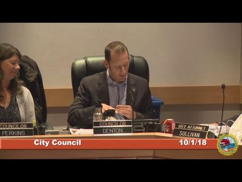 City Council 10.1.18