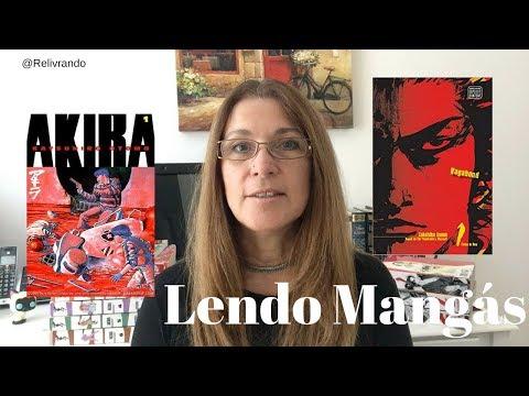 Lendo Mangás - Akira e Vagabond