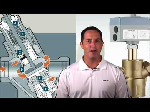 Siemens Make 2way Pressure Independent Control Valve DN15 to DN32