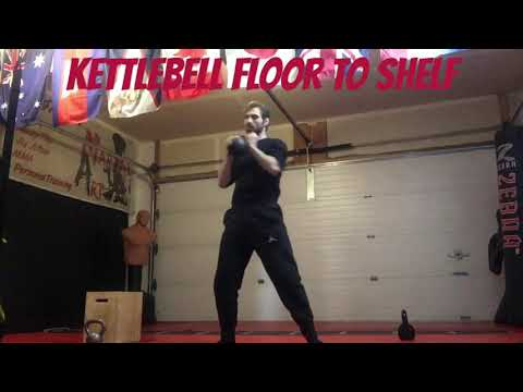 Kettlebell Floor to Shelf