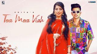 Tera Mera Viah : PRIYA (Official Song) Jass Manak | MixSingh