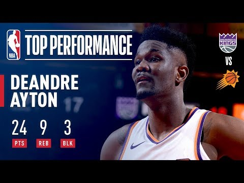 d7ad9b3c5c7 Number 1 Overall Pick DeAndre Ayton s NBA Debut