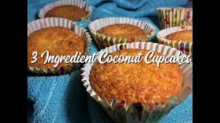 3 Ingredient Coconut Cupcakes Recipe (Bolinhos De Coco) - EatMee Recipes