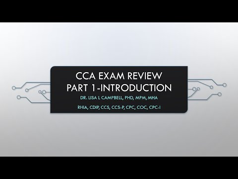 CCA Exam Review Part 1 - YouTube