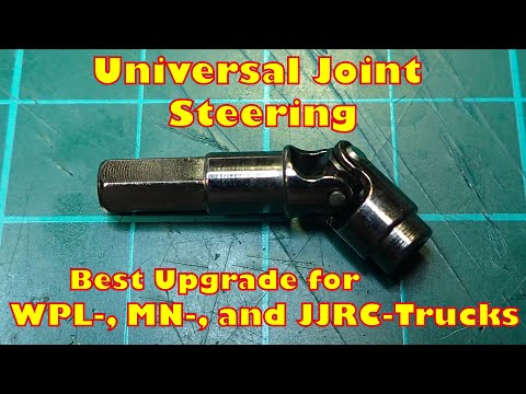 Universal Joints - Steering Upgrade for WPL-, MN-, JJRC Trucks - highly recommended
