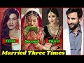 10 Bollywood Stars Who Married 3 Times