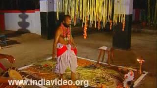 Ayyappan theeyattu - a ritual dance