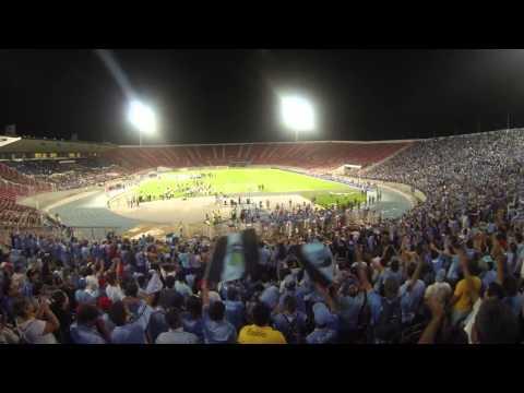 """Yo soy celeste O'higgins Campeon 2013"" Barra: Trinchera Celeste • Club: O'Higgins"