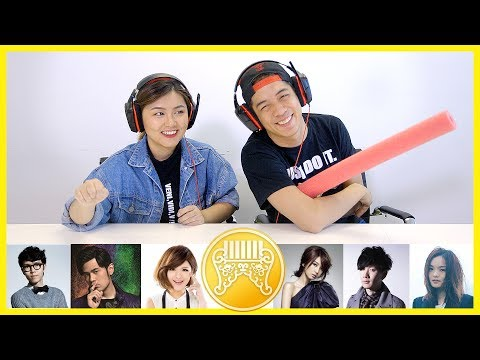 Chinese Students Guess The Golden Melody Song Challenge! 留學生猜金曲獎入圍歌手歌名大對決
