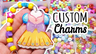 Making Beaded Keychains & Custom Charms