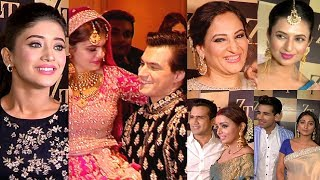 Mohsin Khan Sister Wedding Full Video HD | Shivangi Joshi, Divyanka Tripathi