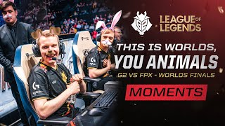 Worlds 2019 : le Best Of des G2 contre FunPlus Phoenix