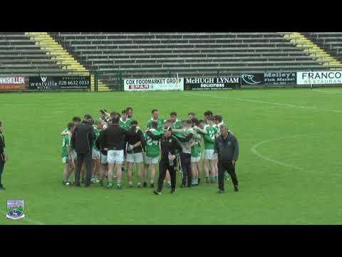 2020 Fermanagh Senior Football Championship Quarter Final - Derrygonnelly Harps v Roslea Shamrocks
