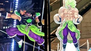 DRAGON BALL SUPER BROLY NEW DESIGN REVEALED! LEGENDARY SSJ BROLY DRAGON BALL SUPER MOVIE 2018