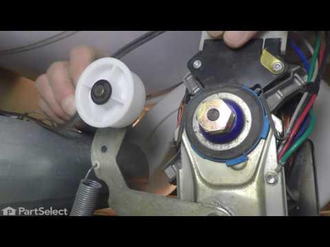 Dryer Repair Replacing The Idler Pulley Whirlpool Part