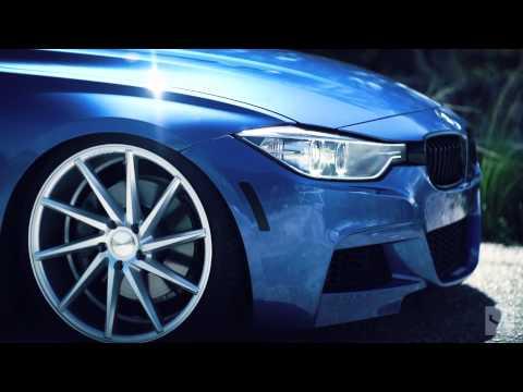 BMW 335i   Vossen CVT Directional Wheels   Rims