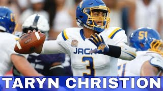 Dallas Cowboys  Newly Signed Taryn Christion Strong-Armed Quarterback