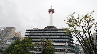 【4K】Walking from Kyoto station to Kiyomizudera way on a rainy day