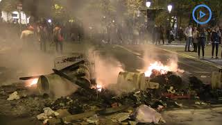 Barcelona burning as Catalan protesters clash with police