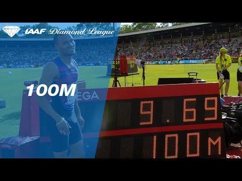 【追参ながらも好記録!】カナダの22歳、ダグラスが100mで9秒69!