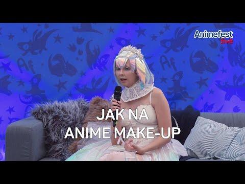 Jak na anime make-up