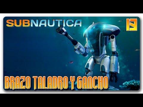 SUBNAUTICA Español | Ep 13 | Brazo taladro y gancho