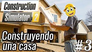 Construction Simulator 2 - Contruyendo mi primera casa   Hormigonera Liebherr