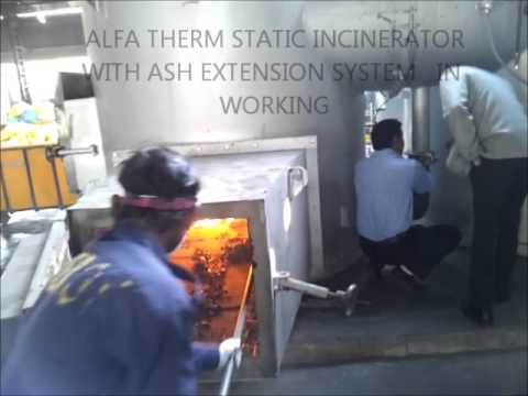 Incinerator With Quencher & Venturi Scrubber
