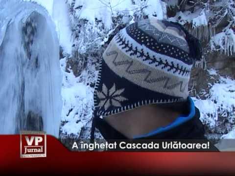 A îngheţat Cascada Urlătoarea!