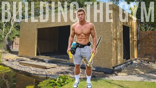 Building The Gym   Ep. 2 *FULL HOME GYM BUILD*