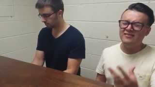 """Who Do We Think We Are"" (John Legend Cover) - Alex Reyna & Jerred Williamson"