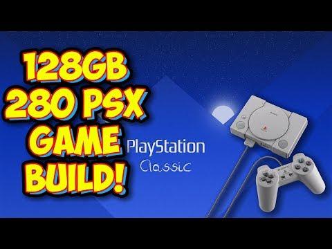 Download The Best 128gb Playstation Classic Autobleem Build Psx Amp