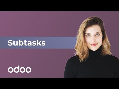 Subtasks in odoo Projektmanagement