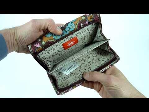 Oilily Travel Geldbörse Portemonnaie L Wallet Braun