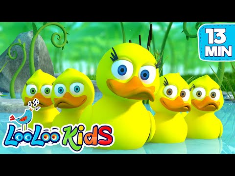 Five Little Ducks - THE BEST Songs for Children   LooLoo Kids