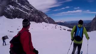 Watzmann, Skischarte Skitour