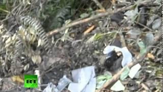 Sukhoi Superjet 100 Crash Site: Close-up Footage Of Debris