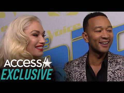 John Legend Playfully Defends Gwen Stefani For Being 'Flustered' Over Blake Shelton Duet (EXCLUSIVE)