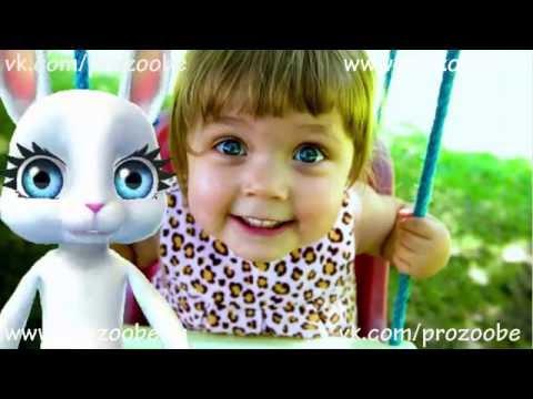 ZOOBE Зайка поздравляет С Днем Девочек 11 октября   Поздравления от Зуби Зайки Домашней Хозяйки