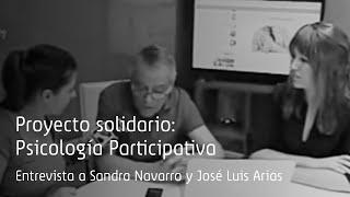 'Aragón en abierto' entrevista a José Luis Arias y Flat 101 por su proyecto Psicología Participativa